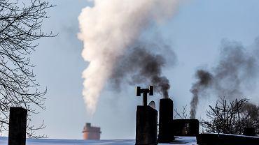 Zanieczyszczenie powietrza nad Katowicami (zdjęcie ilustracyjne)