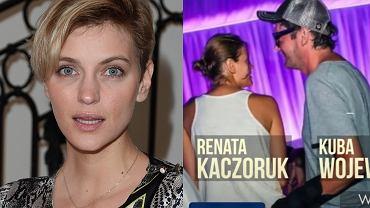 Renata Kaczoruk i Kuba Wojewódzki