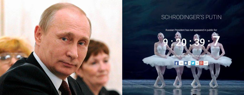 Zniknięcie Putina to
