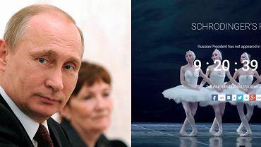 """Zniknięcie Putina to """"kontrolowana nieobecność""""?"""
