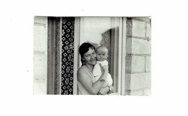 Doda z mamą Wandą Rabczewską.