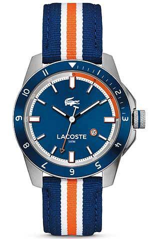 Zegarki: co nowego w 2013 roku, moda męska, zegarki, Zegarek z kolekcji Lacoste, Durban 2010700. Cena: 599 zł