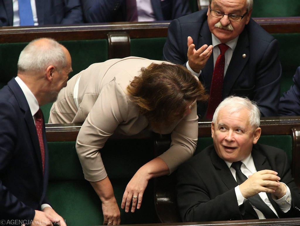 Posiedzenie Sejmu podczas którego były głosowane projekty dot. aborcji