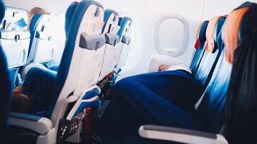 Pasażerka zasnęła podczas lotu. Obudziła się w zamkniętym samolocie, w którym była zupełnie sama