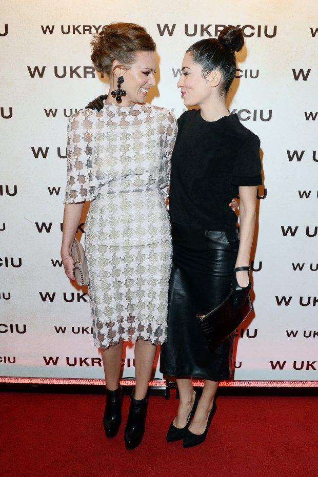 Magdalena Boczarska oraz Julia Pogrebińska