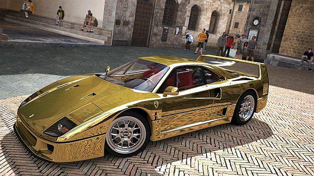 Ferrari F40 - klasyk na złoto