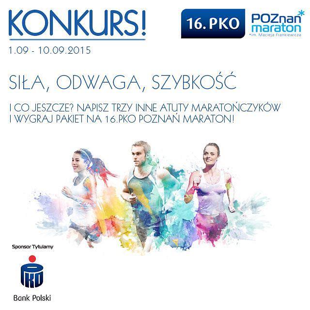 Wygraj pakiet na 16. PKO Poznań Maraton!