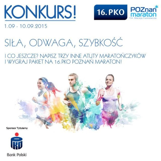 16. PKO Poznań Maraton, konkurs