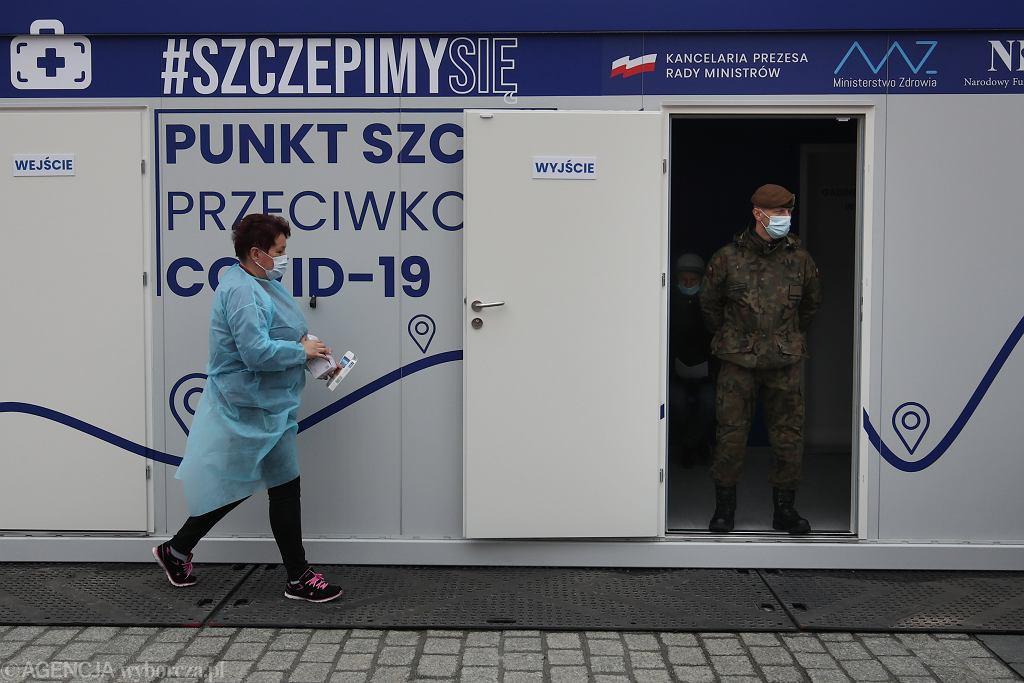 Akcja 'Zaszczep się w majówkę' w Krakowie