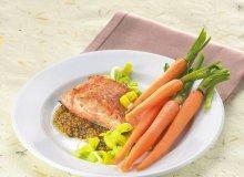 Filet z łososia z marchewką - ugotuj
