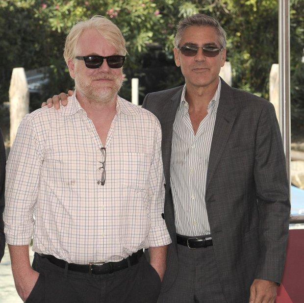 George Clooney, Philip Seymour Hoffman