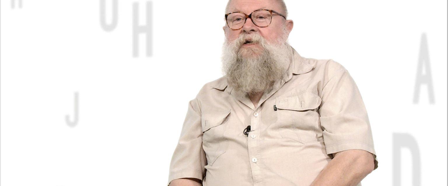 Prof. Jerzy Bralczyk (fot. Gazeta.pl)