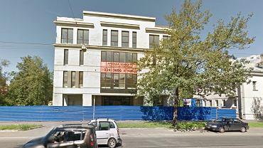 """W tym budynku mieści się """"centrala trolli"""". Widok z 2012 r. Dziś jest na nim niewiele mówiący szyld """"Business Centre"""""""