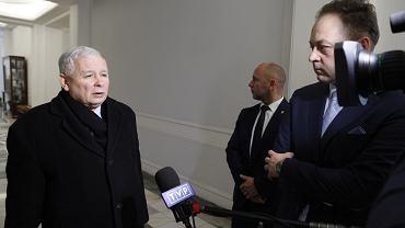 Jarosław Kaczyński i Klaudiusz Pobudzin