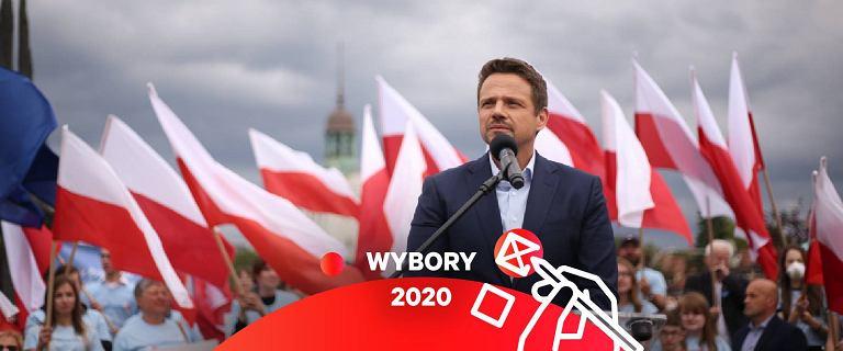 Najnowszy sondaż. Rafał Trzaskowski wygrywa o włos i zostaje prezydentem