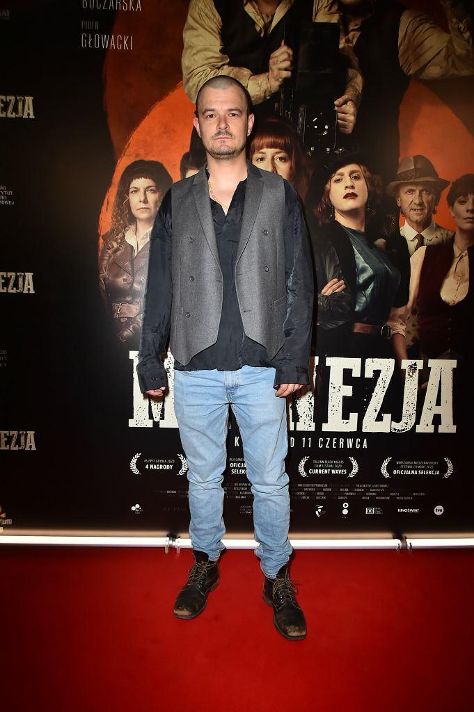 Dawid Ogrodnik - premiera filmu 'Magnezja'