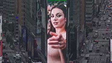 Ewa Farna na Times Square