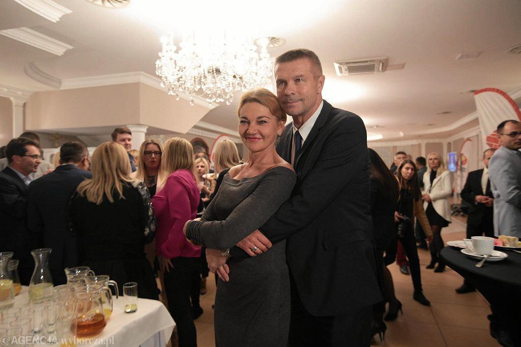 Kielce, 21 października 2018. Wybory samorządowe. Wieczór wyborczy Projektu Świętokrzyskiego Bogdana Wenty
