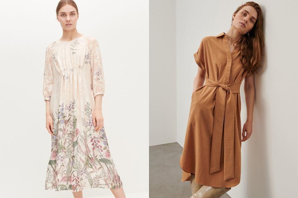 Sukienki dla kobiet po 50-tce z dużym brzuchem