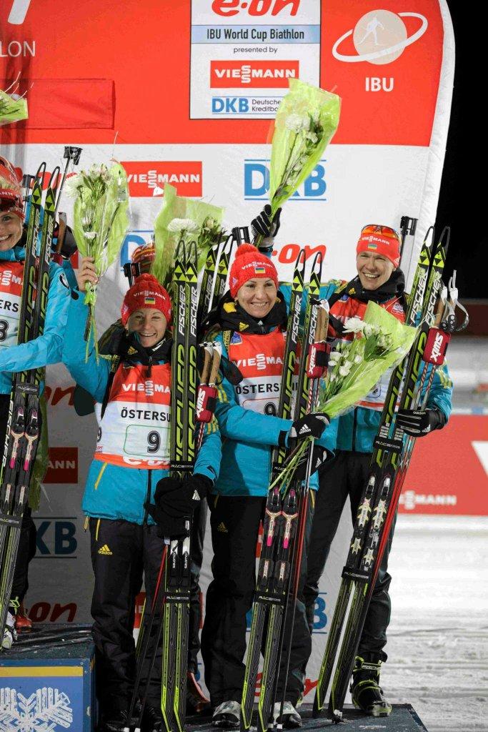 Ukraińska drużyna na podium