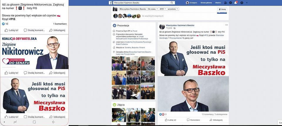 Wybory parlamentarne 2019. Kampania wyborcza na Facebooku