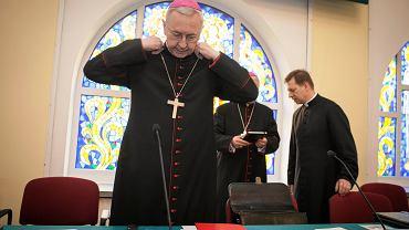 Przewodniczący KEP abp Stanisław Gądecki .