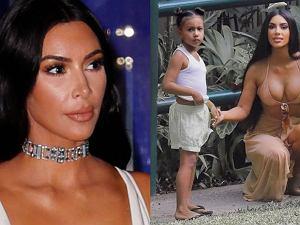 Kim Kardashian wyszczupla North na Instagramie