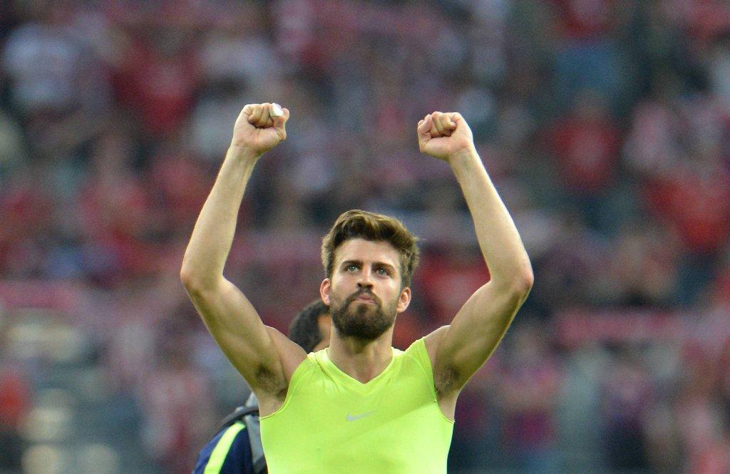 Bayern - Barcelona 3:2. Gerard Pique