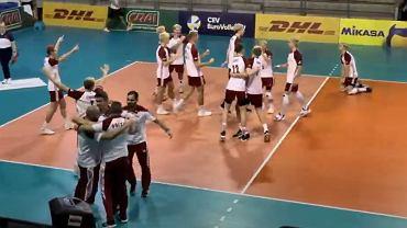 Brąz polskich juniorów podczas mistrzostw Europy U18 siatkarzy