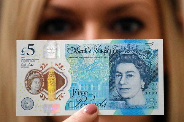Brytyjskie banknoty zawierają zwierzęcy tłuszcz. Wegetarianie są zbulwersowani