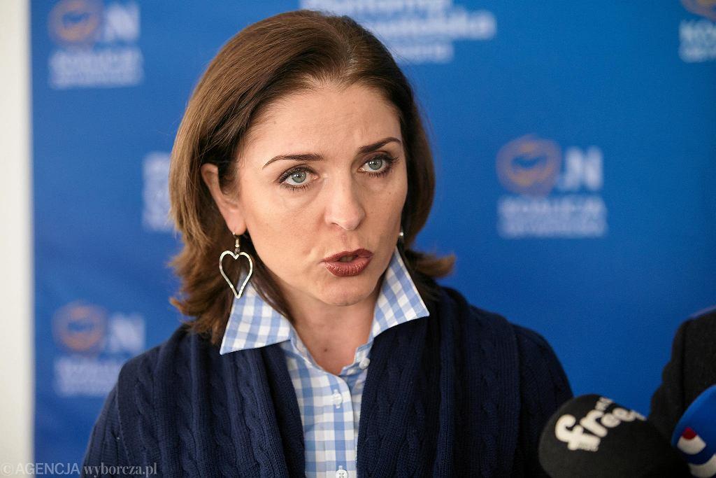 Joanna Mucha próbowała spopularyzować formę 'ministra sportu'