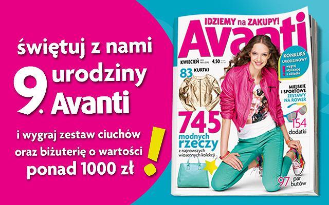 Urodzinowy konkurs Avanti
