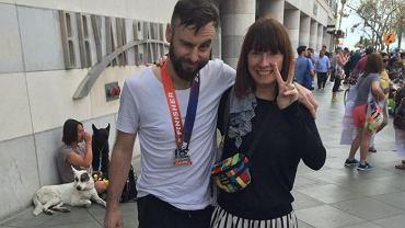 Michał Marcinkowski, właściciel popularnych knajp na ul. Taczaka - zwanej zagłębiem hipsterów w Poznaniu - przebiegł w tym roku swój pierwszy maraton