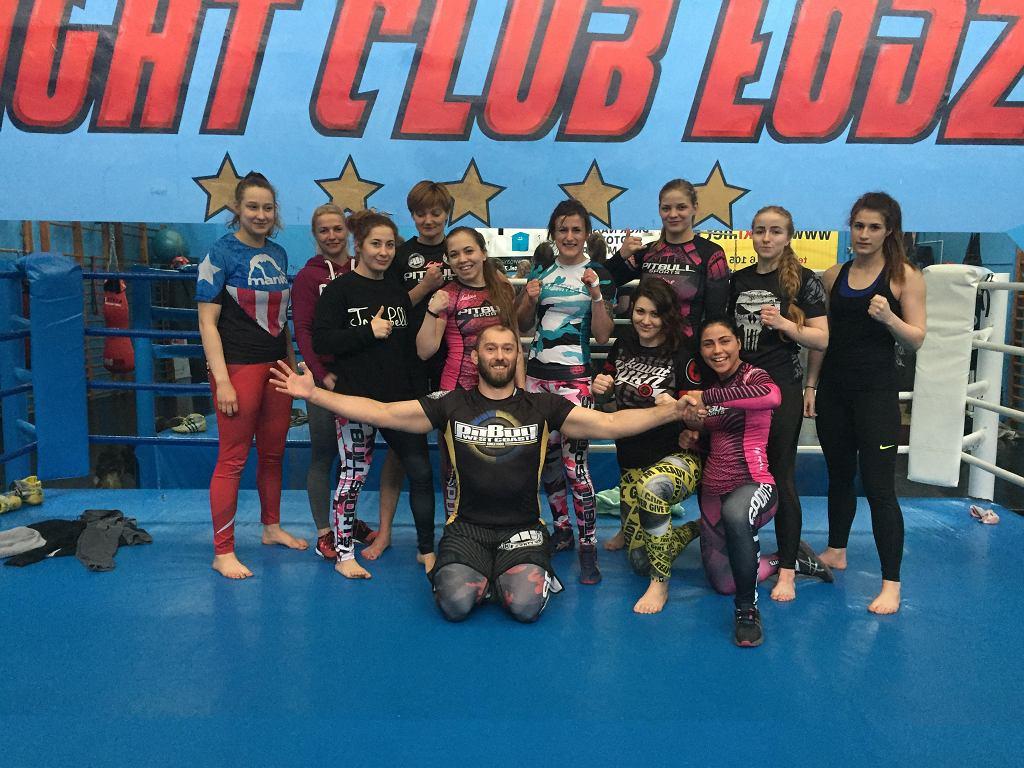 Obóz przygotowawczy Ladies Fight Night w Łodzi