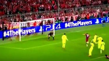 Sytuacja Roberta Lewandowskiego w meczu z Barceloną (półfinał Ligi Mistrzów 2014/2015)