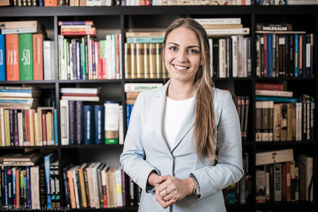 Posłanka Platformy Obywatelskiej Kinga Gajewska
