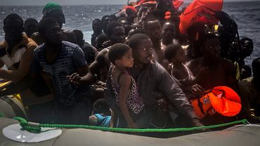 Migranci u wybrzeży Libii