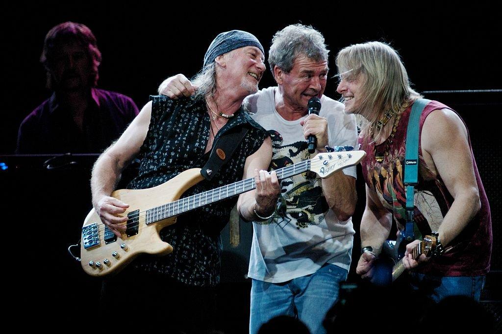 Deep Purple w Brazylii w 2009 roku/ CC BY 2.0/ Silvio Tanaka/ Wikimedia Commons