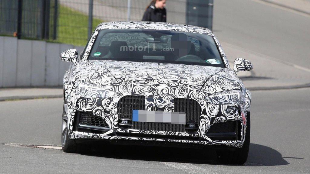 Prototypy | Audi RS5 kręci