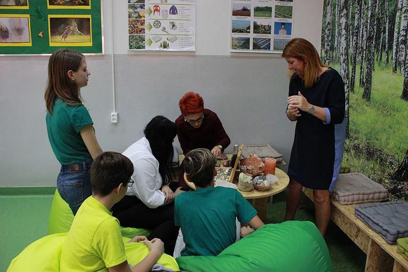 Zielona Pracownia w Szkole Podstawowej nr 1 w rudzkiej dzielnicy Nowy Bytom