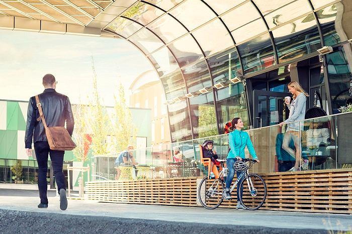 Fotelik rowerowy na ramę