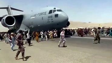 Afganistan. Lotnisko w Kabulu