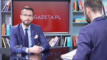 Radosław Fogiel gościem Gazeta.pl