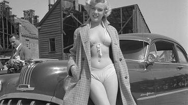 Marylin Monroe w Los Angeles, 1951 r.