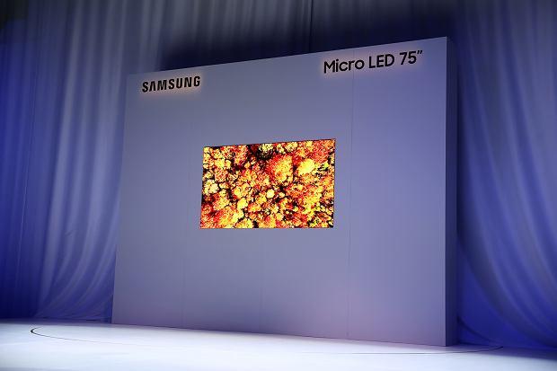 CES 2019: Telewizor MicroLED Samsunga o przekątnej 75 cali