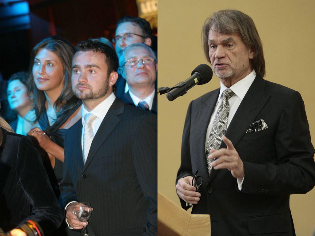Sebastian Kulczyk i jego ojciec - Jan Kulczyk