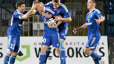 Eduards Visnakovs znowu strzela bramki dla Ruchu Chorzów