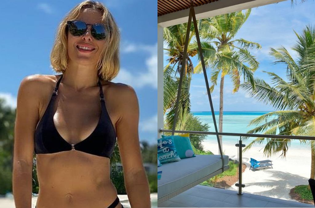 Ewa Chodakowska na wakacjach