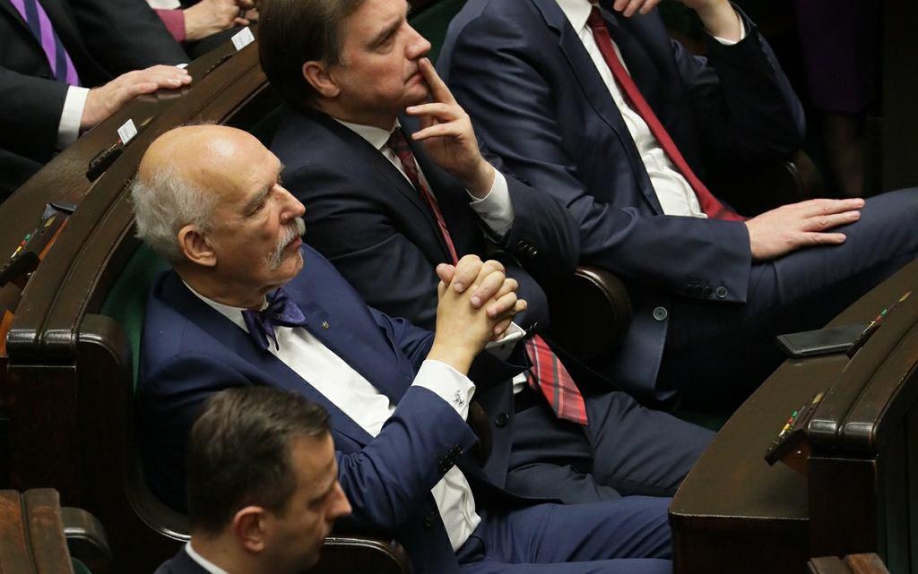 Janusz Korwin-Mikke w Sejmie