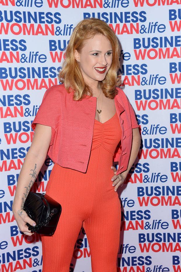 Kaja Paschalska na charytatywnej gali kalendarza Businesswoman & Life 2020